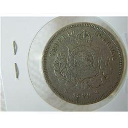 COIN - IMPERIO DO BRAZIL - 100 REIS - 1889