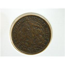 COIN - NEDERLANDEN - 1 CENT -  1922