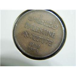 COIN - PALESTINE - 1 MIL - 1939