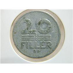 COIN - 20 FILLER - 1968