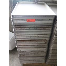 Approx. 75 Sheet Pans 26  L x 18  W