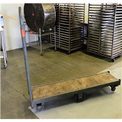 Woden Platform Dolly w/ Metal Frame