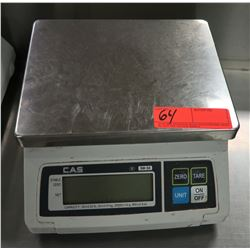 "Cas III SW-50 Digital Scale 9.5"" x 11"" x 5.5"" H"