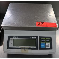 "Cas III SW-20 Digital Scale 9.5"" x 11"" x 5.5"" H"