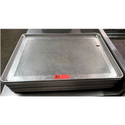 "Perforated Sheet Pans 26"" L x 18"" W, Approx 12"