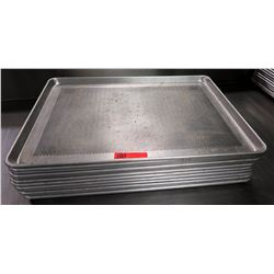 "Perforated Sheet Pans 26"" L x 18"" W, Approx 11"