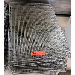 "Full Size Wire Racks 24"" L x 16"" W, Approx 12"