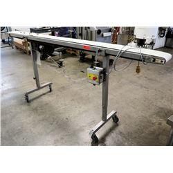 "Ross Industries 6"" x 97"" Powered Conveyor Belt"