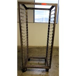 "Speed Rack 26.5"" 18"" x 65"" H"