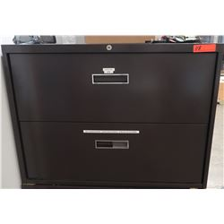 2-Drawer Lateral Metal Filing Cabinet 36  x 18  x 27  H