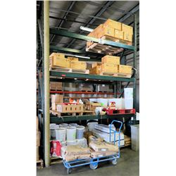 Warehouse Pallet Racking System - 2 Uprights, 6 Cross Beams