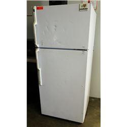 "Hotpoint HTS17GBSARWW Upright Refrigerator 28"" x 28"" x 64"" H"