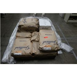 Contents of Pallet: Bags & Box of 'Alto Cocoa' (Guittard Chocolate Co.)