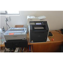 Brother MF-9970CDW Laser Printer/Copier & Epson FX-890 Fax Machine