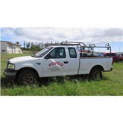 2001 Ford F-150 XL Pickup Truck with Triton V8 Motor, 228,994 Miles, Lic. 877TPS