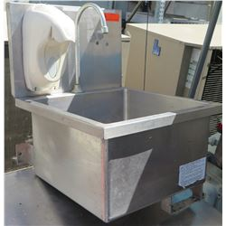 """Stainless Steel 19"""" Hand Washing Sink"""