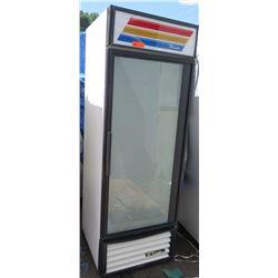 True GDM 23 Single-Door Glass Door Refrigerator