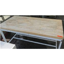 Butcher's Block Table