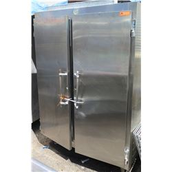 Utility Refrigerator Co 50-BF-2S Two-Door Reach In Refrigerator