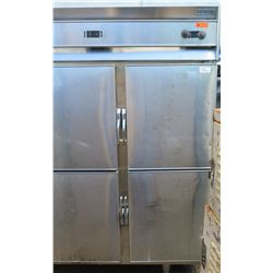 Koch MD1/MDH2 Dual Temperature 4-Door Reach-In Refrigerator