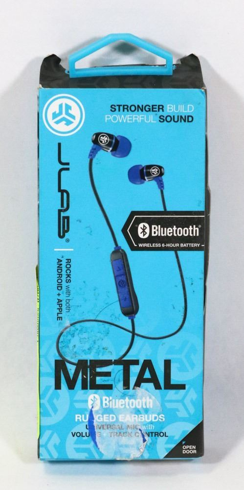 3b7e4e14116 Image 1 : JLAB METAL WIRELESS BLUETOOTH EARBUDS