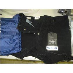 Black Levi Shorts SZ 27