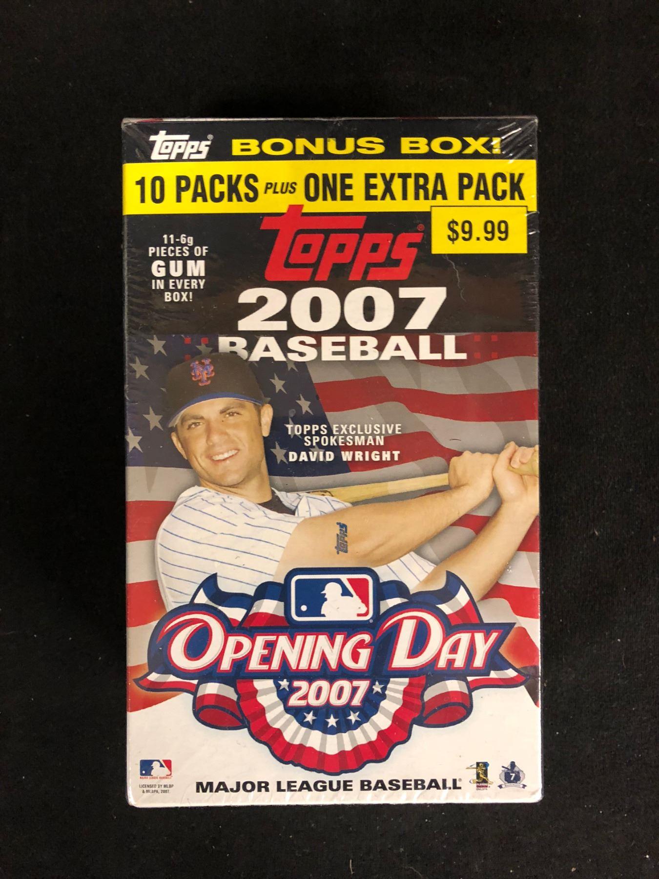 2007 Topps Baseball Card Box Set Factory Sealed