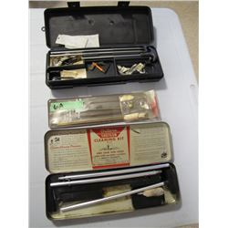 lot of 3 miscellaneous gun cleaning kits