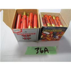 lot of 2 boxes 410 ammunition not full