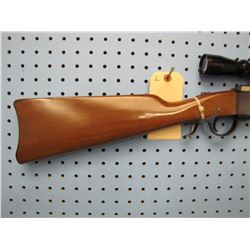 L... Ruger #3 falling block 22 Hornet single shot Leopold 3 x 9 scope