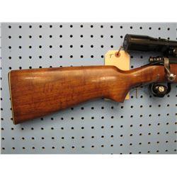 T... Remington Model 722 bolt action 222 rem internal clip Burris 4 X 12 scope