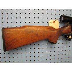 U... BSA Hunter bolt action 222 REM floor plate Leupold 8x scope