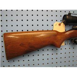 V... Remington Model 722 bolt action 222 REM internal clip Weaver 4 x 16 scope