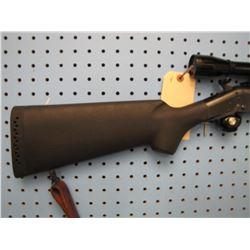 Y... H&R Handi rifle sb2 break open 22 Hornet synthetic stock Leupold M8 6X scope