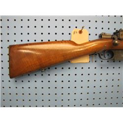 BO... Mauser Modelo Argentino 1891 bolt action 8 mm clip Lyman peep sight
