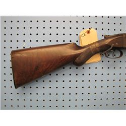 CE... w w greener 10 gauge double barrel shotgun stock broke missing plate by trigger