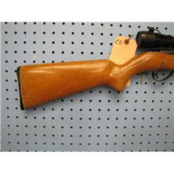 CO... Springfield model 188 h 22 semi-auto to magazine Bushnell scope