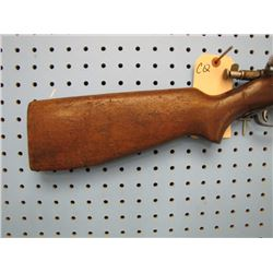 CQ... Winchester Model 68 bolt action 22 long and long rifle single shot piece of butt missing