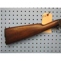 CU... Remington model 12a pump-action 22 tube magazine butt plate broken