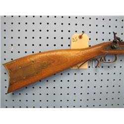 DS...  Ultra Hi by Mirokuñ Japan 45 caliber muzzleloader Brown finish full-length wood engraved in c