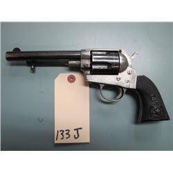 RESTRICTED: Uknown  ( Belgian ?? ) 44/40 caliber 5 shot single action revolver ( Belgian Proof Marks