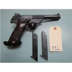 RESTRICTED: High Standard Model 103 Supermatic Tournament .22 LR Semi Auto Pistol