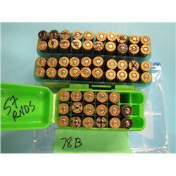 lot of 57 reloads  250 Savage