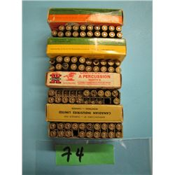 lot of 58 rounds 222 reloads