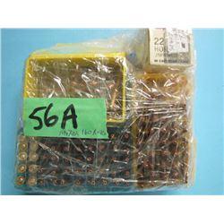lot of approximately 160 reloads 22 hornet