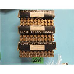 lot of 30 ought 6 Springfield 20 handloads 40 brass