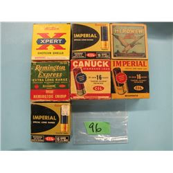 lot of 7 collector boxes 16 gauge  Factory