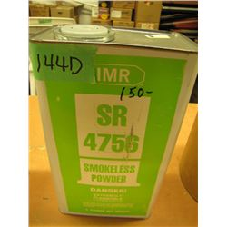 no shipping - can of IMR SR4756 powder consignor says full