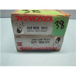 lot of 33 rounds 458 Win Mag