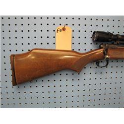 FQ... Savage on 110 bolt action clip 7 mm Rem Mag Caliber Bushnell Banner scope front sight JB welde